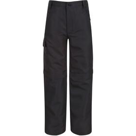 Regatta Sorcer II Pantalon convertible avec fermeture éclair Enfant, gris
